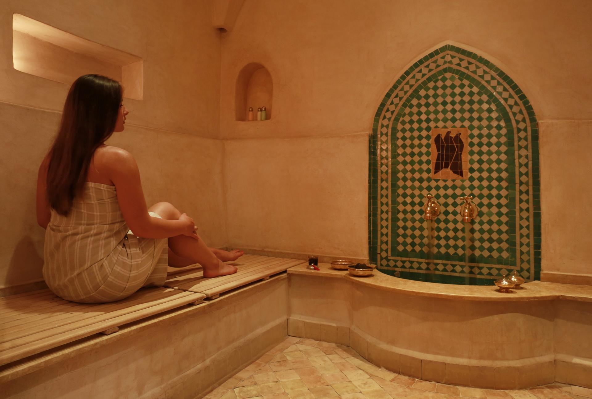 Hamam în Marrakech